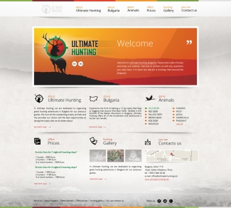 Ultimate Hunting / Hunting tourism website